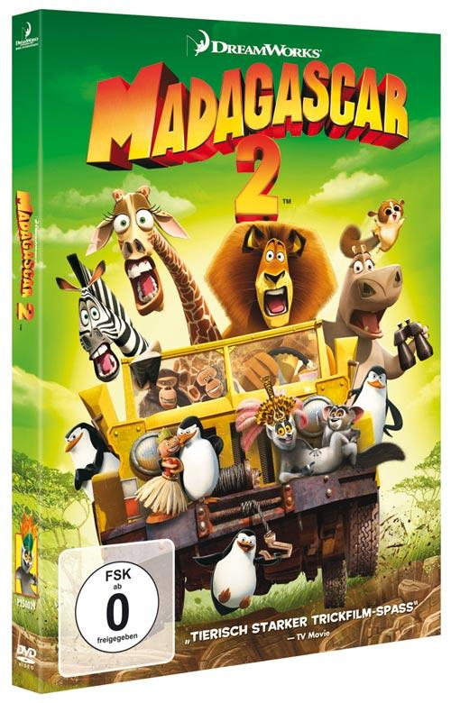 Madagascar 2 Film Cover